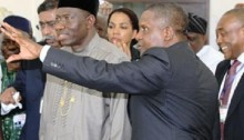 Jonathan and Dangote