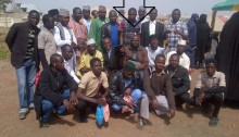 pastor yohanna buru with the Muslim youth