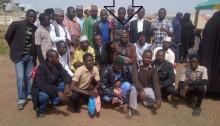 pastor yohanna buru with the Muslim youth