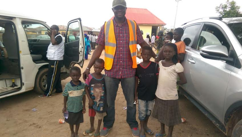 I went to see some displaced families. They need our help critically - Dr. Peregrino Brimah
